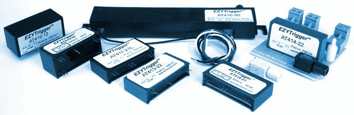 Funktionsbeschreibung des kompaktes Trigger Modul für eine direkte Thyristor-Ansteuerung durch Logikschaltkreise mit Mikrocontrollern, Mikroprozessoren, CPLDs oder FPGA