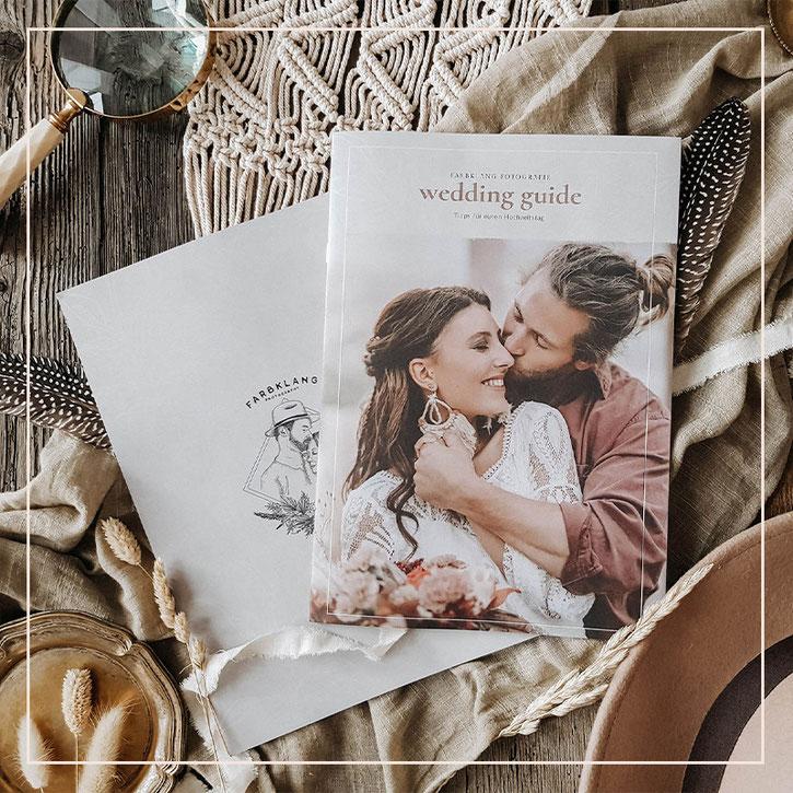 Wedding Guide Design und Textvorlage