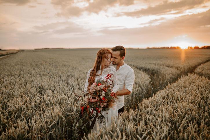 Boho Hochzeitsfotograf Toskana