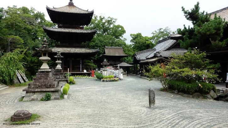 Ishite-Ji, Matuyama, Japon