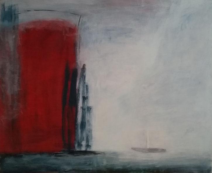 Ohne Titel    Eitempera auf Leinwand    100 x 120 cm