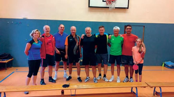 LSV Langenberg Falken - Tischtennis Erwachsene