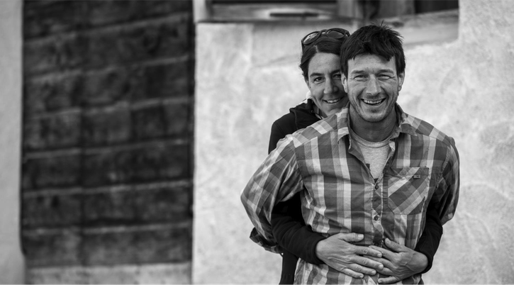 Martina & Anselm Tscharner / Foto: Romano Salis