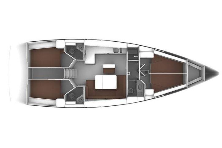 Yachtcharter mit Skipper Bavaria 46