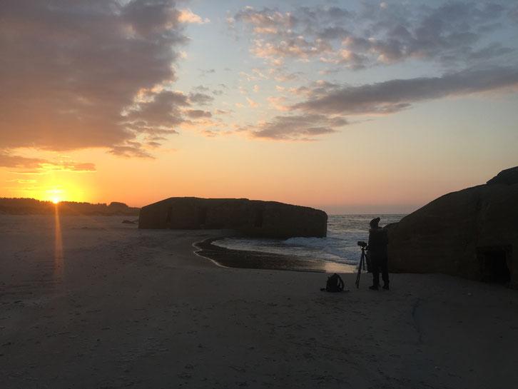 Sonnenuntergang_Camping_Vigsø_Dänemark_Reisetagebuch_Die Roadies