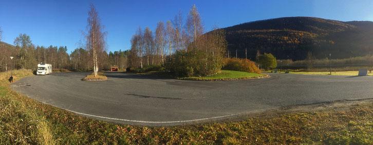 Rastplatz_Rognan_Wohnmobil_Hund_Norwegen