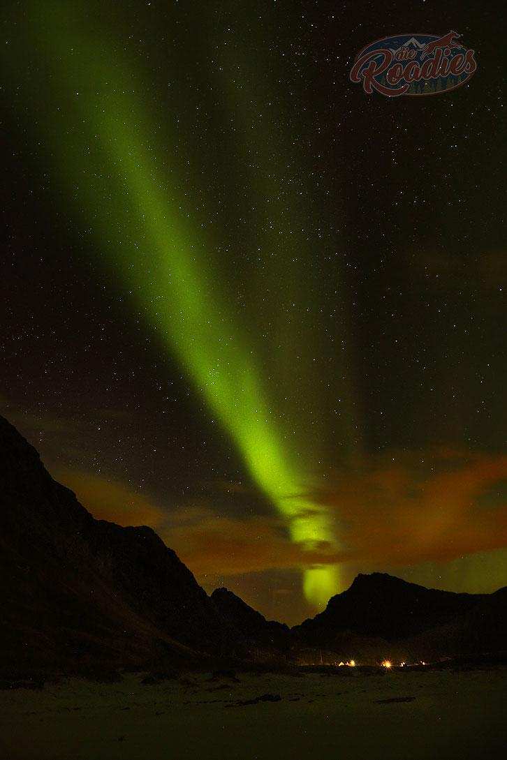 Northern Lights_Nordlichter_Haukland Beach_Norwegen_Lofoten_Wohnmobil