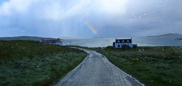 Isle of Barra_Schottland_Die Roadies_Wohnmobil_Hund_Reisetagebuch_Regenbogen