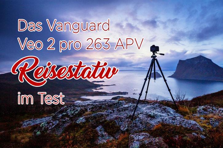 Reisestativ_Fotografie_Dreibein_Vanguard_Veo 2 pro 263 APV im Test