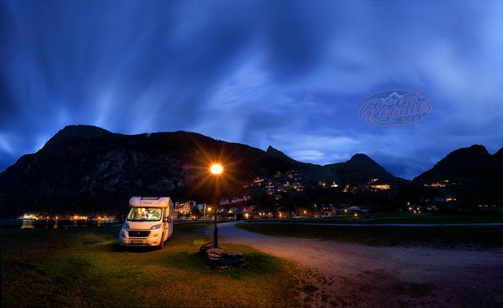 Fiat Forster_Geiranger Camping_Wohnmobil_Norwegen_Hund