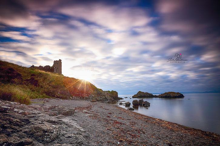 Schottland_Schottland_Dunure Castle_Die Roadies_Wohnmobil_Hund