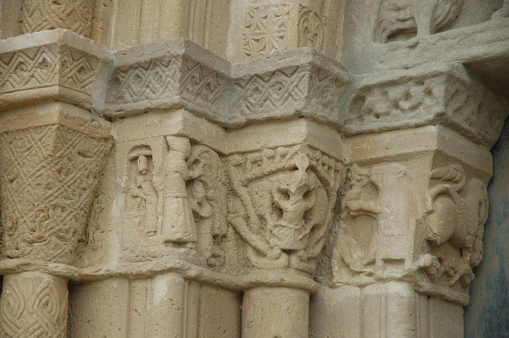 Chapiteau de Santa Coloma de Queralt (Bell-lloc, Catalogne)