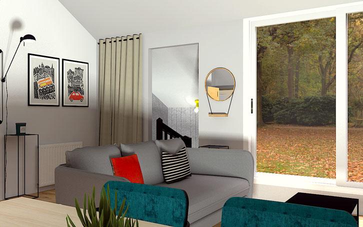 Un espace ouvert et convivial ma jolie maison conseils en décoration dintérieur reims