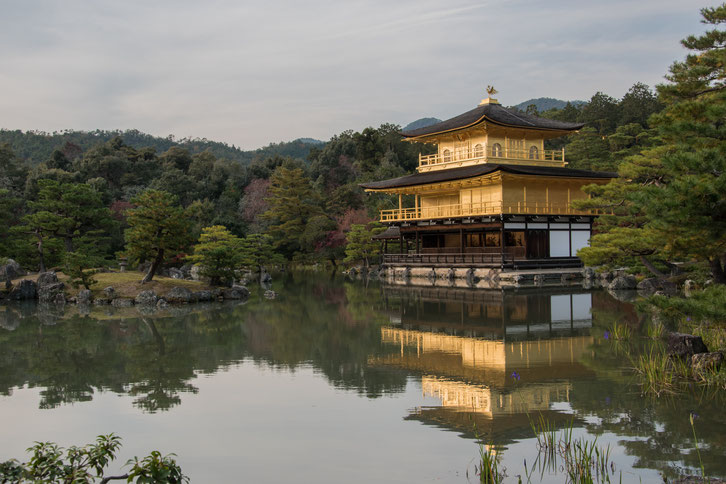 Kinkaku-ji, il Padiglione d'Oro a Kyoto