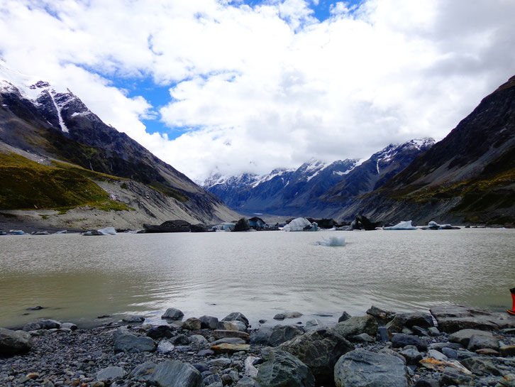 Glaciers at Mount Cook