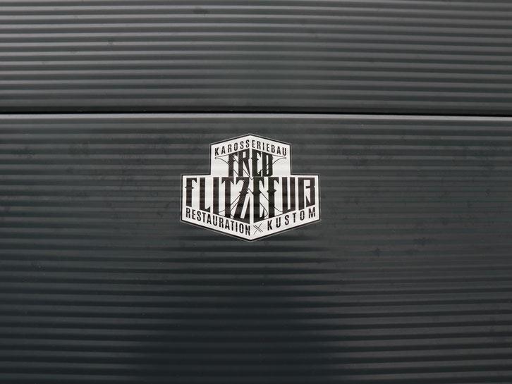 Logo Redesign for Fred Flitzefuß Custom, Sticker, Logo Aufkleber by Zuni Kubera from BRAVE & BUTT DESIGN STUDIO