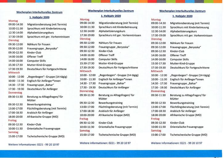 IKZ Buchheim Programm