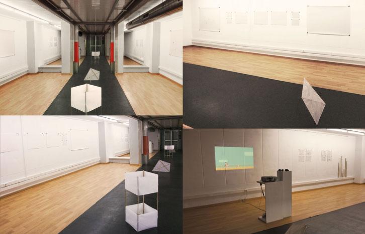 Exposición de Courant en Alcultura. Algeciras, 2018