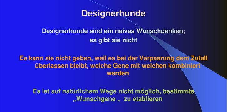 Dr. Helga Eichelberg > Zuchtstrategien, VDH Akademie