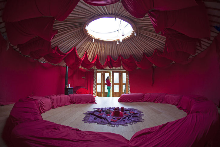 Tiny House / Rote Tara / Jurte bauen / rundesLeben.at