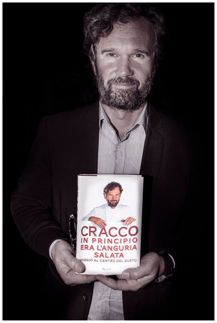 CHEF CARLO CRACCO. IN PRINCIPIO ERA L'ANGURIA SALATA.