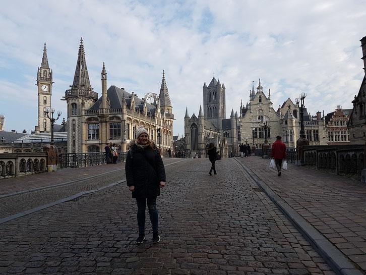 Skyline von Gent