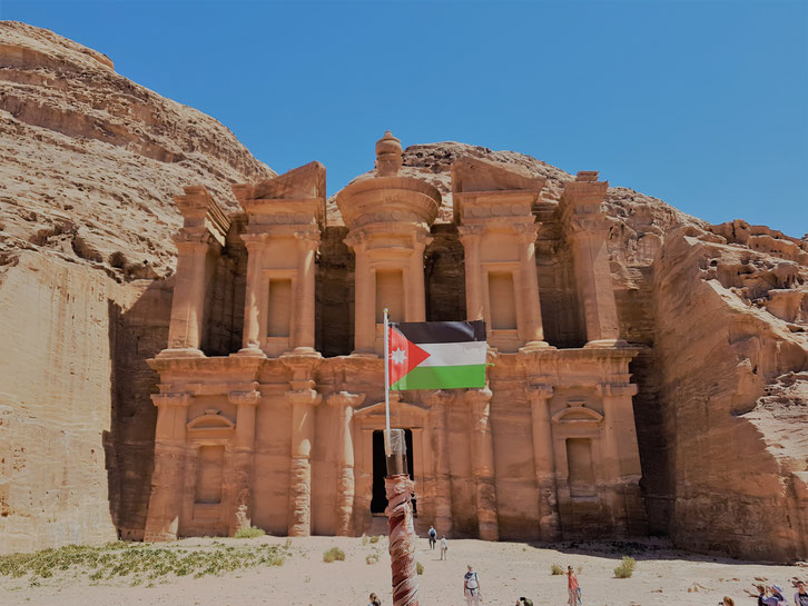 Wanderung in Petra