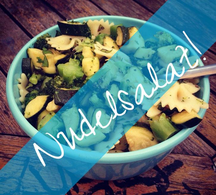 Nudelsalat ayurvedisch angehaucht