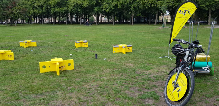 Outdoor fitness in Hannover