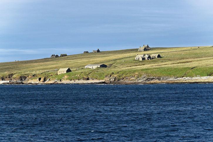 Karge Küstenlinie von Orkney