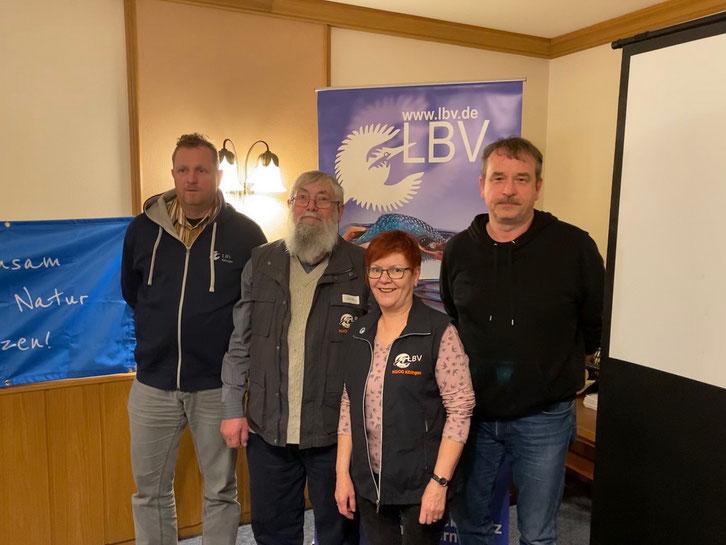 Vorstandschaft LBV-Ortsgruppe Kitzingen