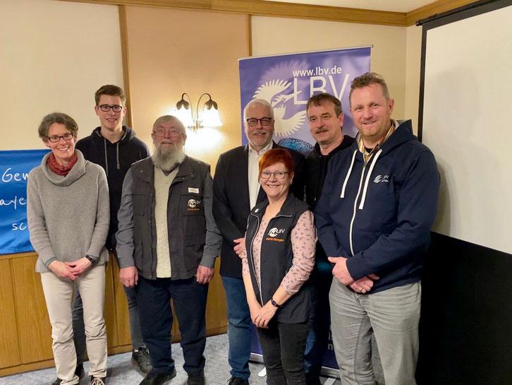 Vorstandschaft LBV-Kreisgruppe Kitzingen