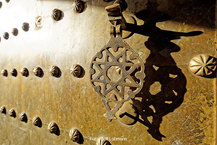 Detailansicht, Kasbah von Telouet, Marokko. Aufgenommen mit der Sony Alpha 7R mit Canon TS-E 17 mm Shift. Copyright 2014 by Rolf Lohmann