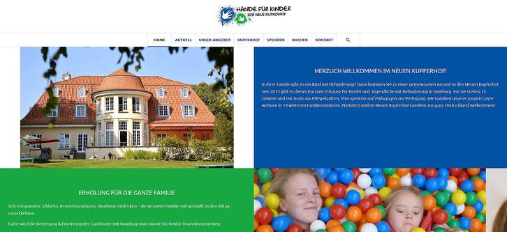 Hände für Kinder e.V. - Neue Webseite - www.haendefuerkinder.de