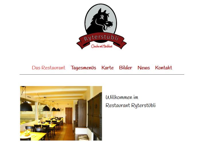 Restaurant Ryterstübli Binningen Basel