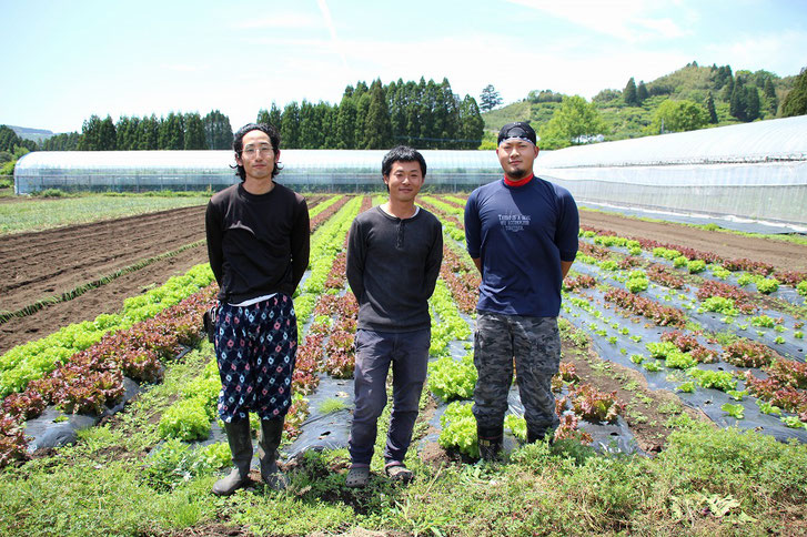 宮崎県綾町にある有機農家・南国農園 甲斐太さんの写真です
