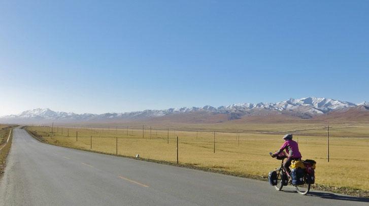 Wunderbares Wetter und tolles Panorama auf 3400 m ü.M.