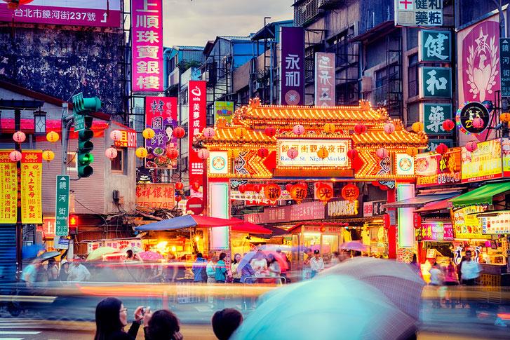 (※写真は台湾にある夜市のイメージ)
