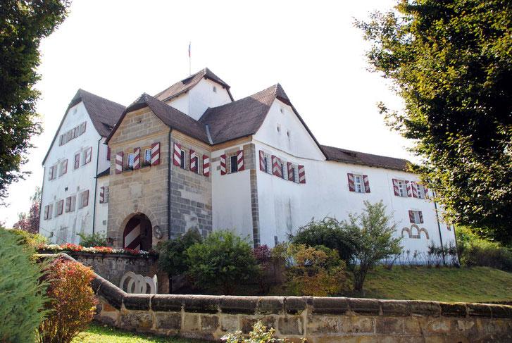 Schloss Hefenfeld von Nordwesten: Idealer Standort eines Heimatgeschichtsmuseums...