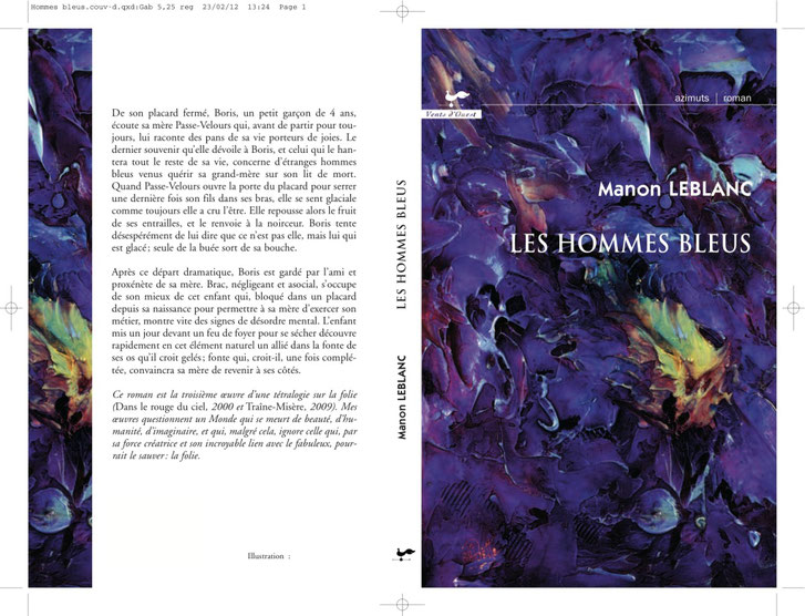Automne 2012. Page couverture : Alexandre-Éric Piette.