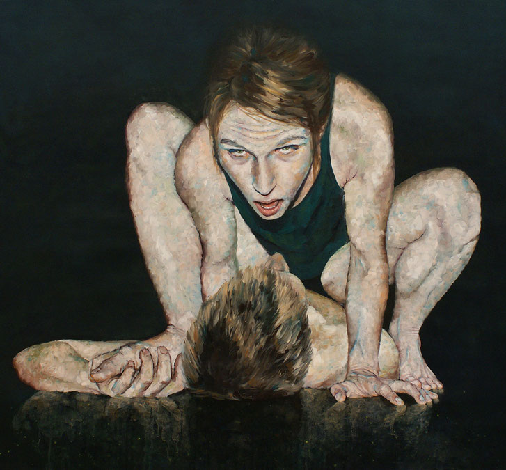 Öl auf Leinwand, 106 x 110 cm, 2012