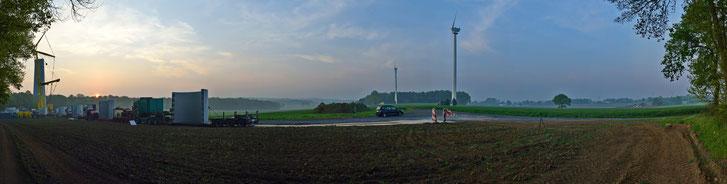 180 Grad Panorama morgens um 7, 26.o4.2o14
