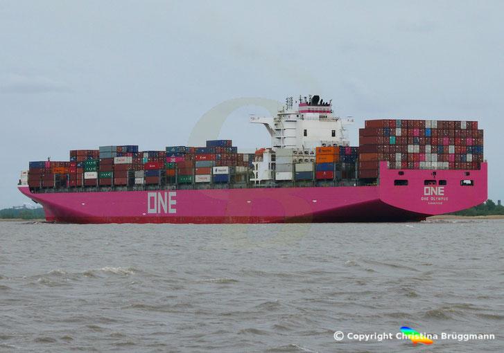 Containerschiff ONE OLYMPUS, ex NYK OLYMPUS