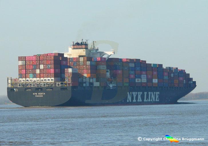 "Containerschiff ""NYK VESTA"""