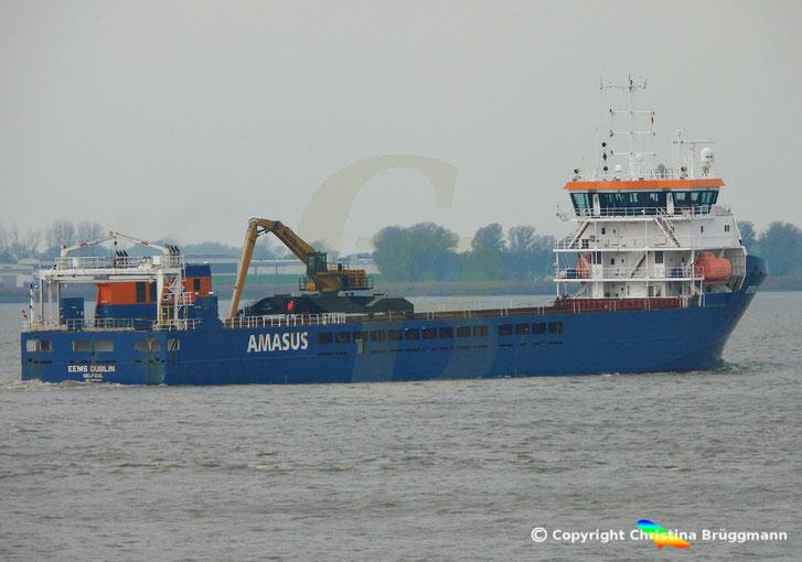 EEMS DUBLIN, AMASUS Shipping