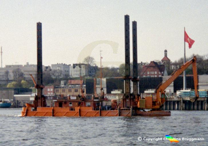 Tieflöffelbagger EKKE, Hamburg 1996