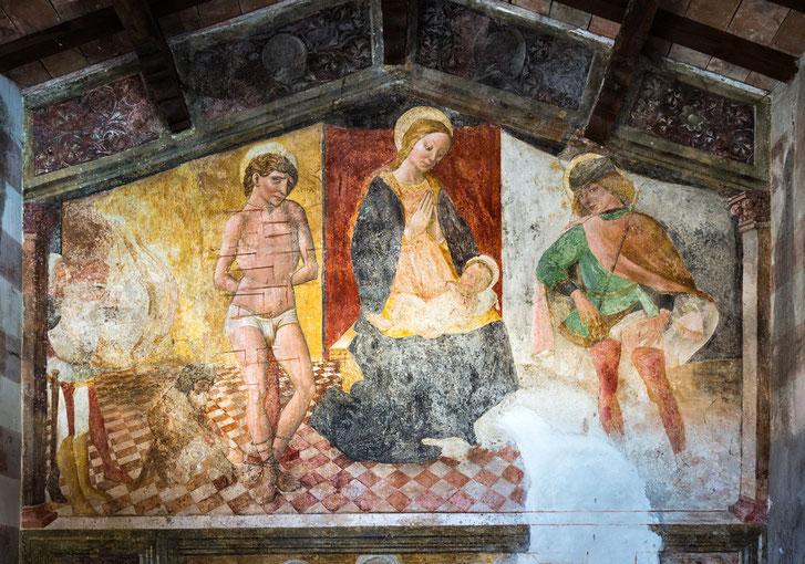 Cona di San Sebastiano, Andrea de Litio