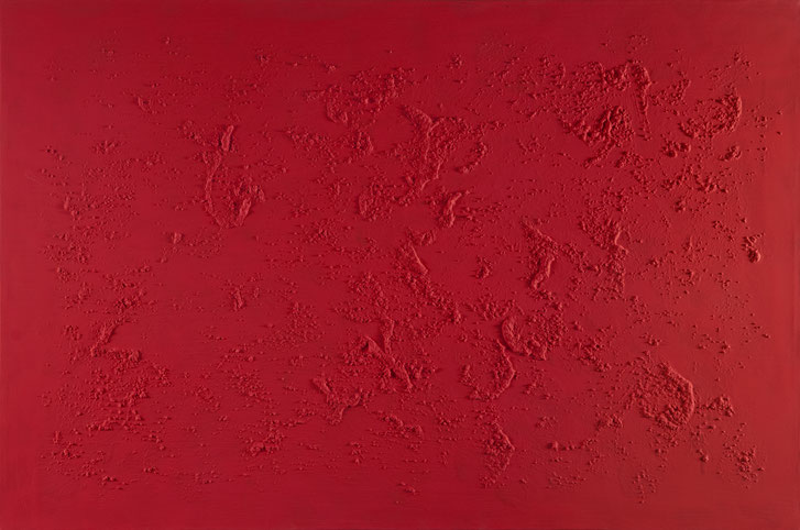 Just red.Acrilico su tela.90x60.2014