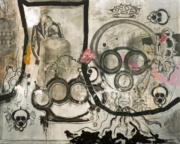 Spiegel · 2012 · 2.400 x 2.000 mm · Öl auf Leinwand