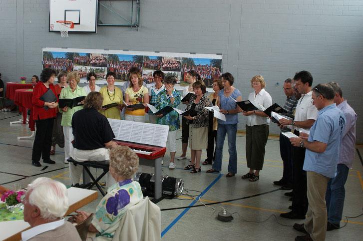 Auftritt  Da Capo in Wernborn 2011